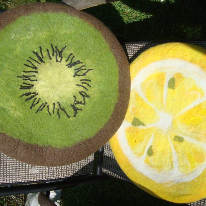 Kiwi und Zitrone