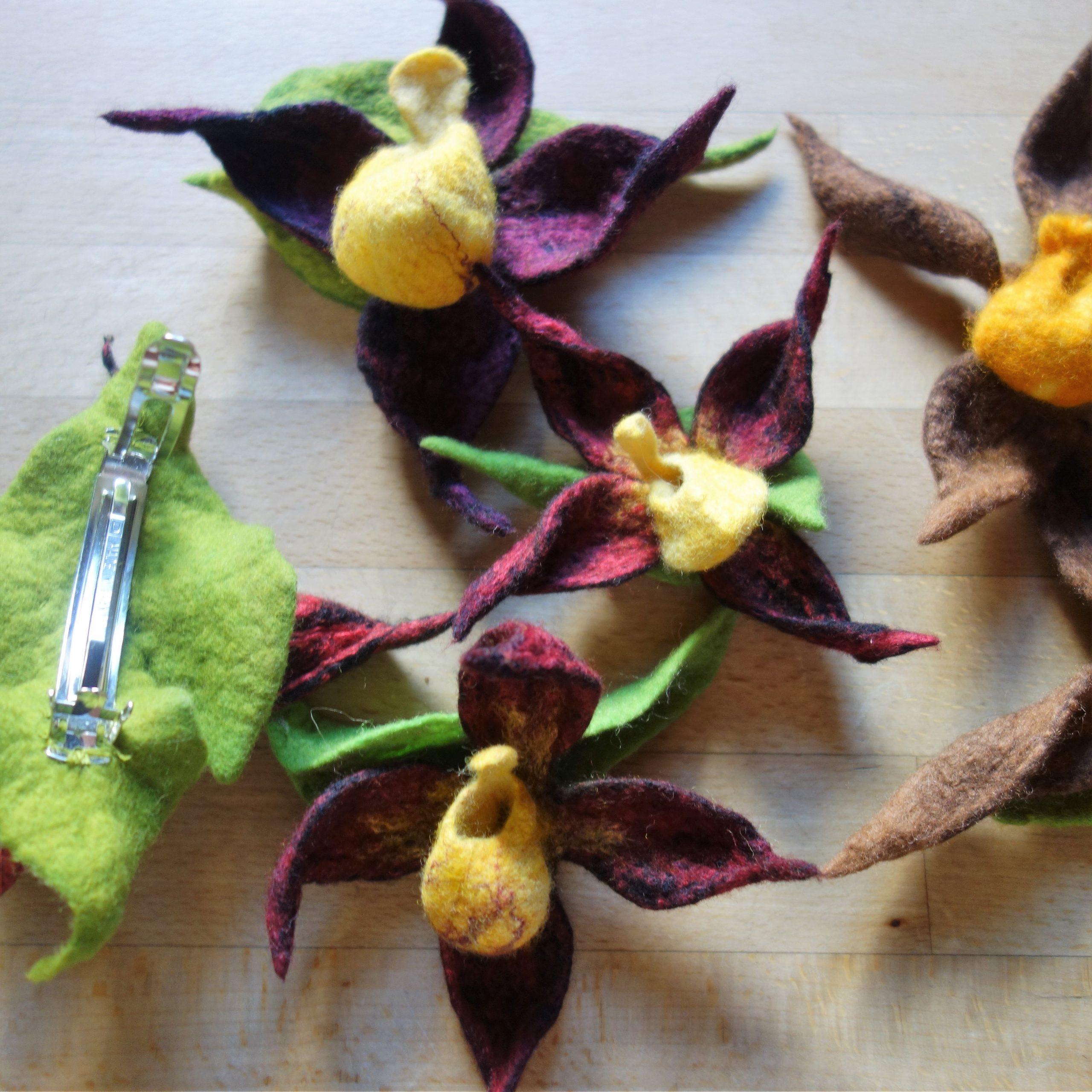Orchideen und andere Blüten